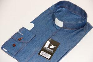 Новинка: Рубашка дляпастора изджинсы